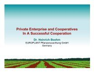 Private Enterprise and Cooperatives In A ... - World Potato Congress