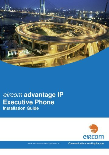 eircom advantage IP Executive Phone