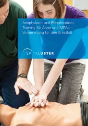 Flyer REA-Training - Spital Uster