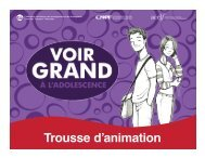 Trousse d'animation - acelf