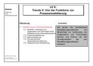 LE 6 - Lehrstuhl für Wirtschaftsinformatik (Prof. Dr. Helmut Krcmar)
