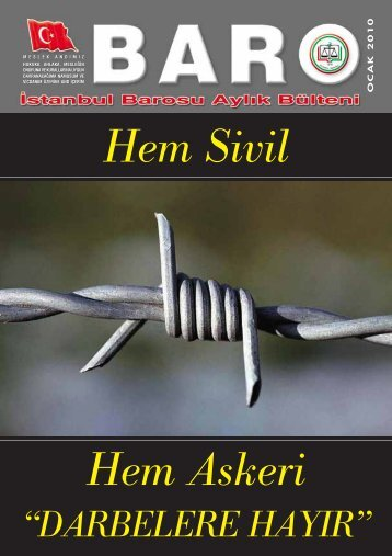 OCAK 2010 - Ä°stanbul Barosu