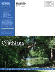 2011 Annual Drinking Water Quality Report