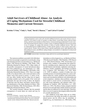 an analysis of the causes of child abuse Child abuse essay examples 222 total results the system for characterization and identification of abusive parents 503 words 1 page the types of domestic.