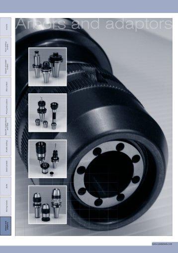 Arbors & Adapters - Severance Tools of Canada Ltd.