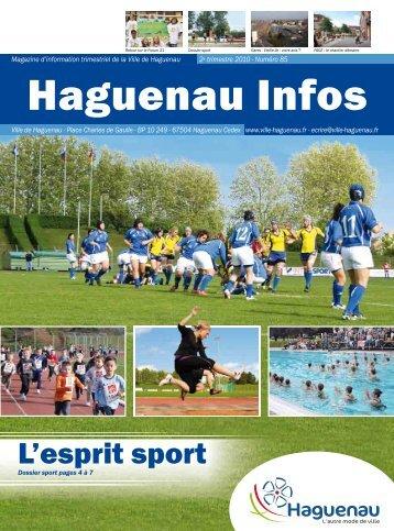 L'esprit sport - Ville de Haguenau