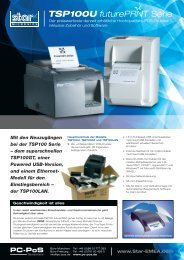 Datenblatt TSP100 future PRNT Serie