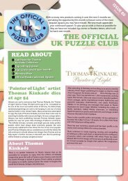 THE OFFICIAL UK PUZZLE CLUB - Jigsaw Puzzles