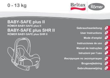 BABY-SAFE plus SHR II - Britax Römer