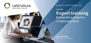 Expert training - La Struttura