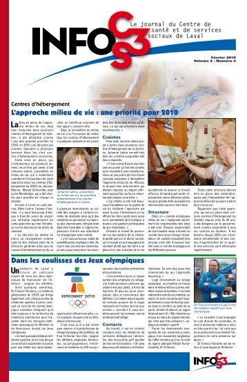 Volume 2 Numéro 2 - Centre de santé et de services sociaux de Laval