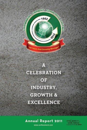 Carib Cement 2011 Annual Report - Caribbean Cement Company ...