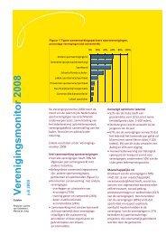 Verenigingsmonitor 2008 versie 2 - Mulier Instituut