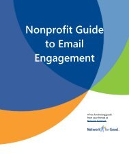 Nonprofit Guide to Email Engagement - Network for Good Learning ...