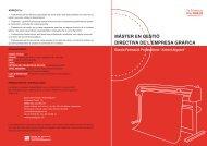màster en gestió directiva de l'empresa gràfica - Gremi d'Indústries ...