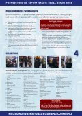 Postreport Online Educa Berlin 2003 - Page 4