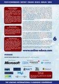 Postreport Online Educa Berlin 2003 - Page 6