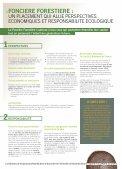 Plaquette commerciale - Foncière Forestière - Page 2