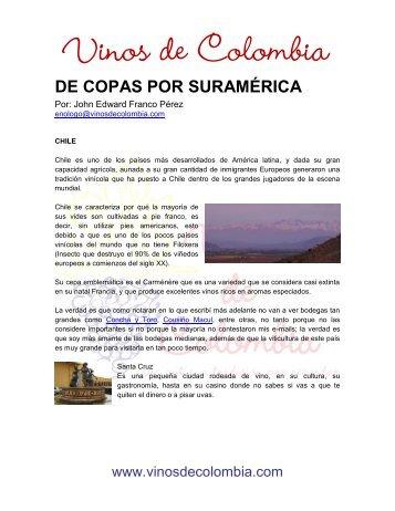 DE COPAS POR SURAMÉRICA - Inicio