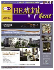Winter 2013 Volume 16, Issue 1 - McCrone Healthbeat