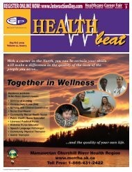 Sep/Oct 2009 Volume 12, Issue 5 - McCrone Healthbeat
