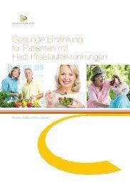 Gesunde Ernährung für Patienten mit Herz ... - Vinzenz Gruppe