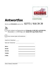 Antwortfax