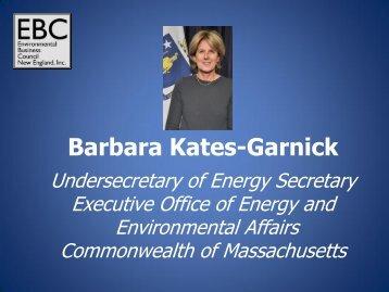 Barbara Kates-Garnick - Environmental Business Council of New ...