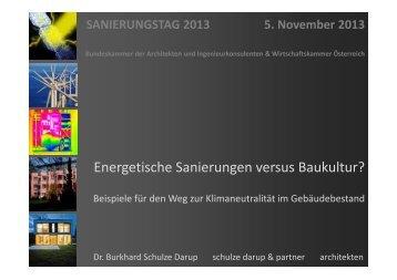 Schulze Darup - Bundeskammer der Architekten und ...