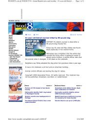 Page 1 of 2 WOODTV.com & WOOD TV8 - Grand Rapids news and ...