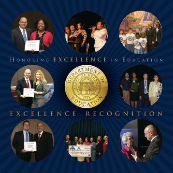 excellence recognition - Georgia Department of Education