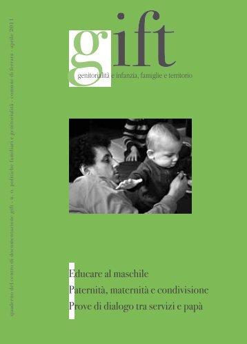 Educare al maschile - ER Sociale - Regione Emilia-Romagna