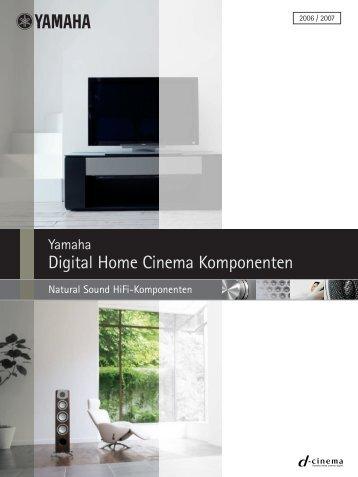 Digital Home Cinema Komponenten