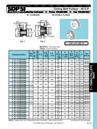 Timing Belts - 40 D P  or 2 07 mm Pitch 1 – TIMING BELTS