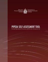 PIPEDA Self-Assessment Tool