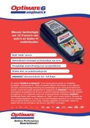 Nieuwe technologie om 12 V-accu's van auto's en ... - Tecmate-int.com