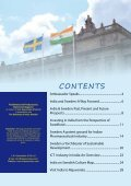 India-Sweden Special Report 2012 - Embassy of India, Sweden and ... - Page 3