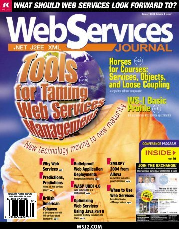 Why Web Services - sys-con.com's archive of magazines - SYS ...