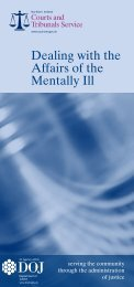 p_uil_dealing_with_affaris_of_mentally_ill - Northern Ireland Court ...