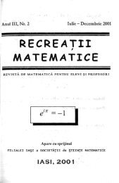 format .pdf, 10.7 MB - RECREAÅ¢II MATEMATICE