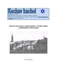 Zpravodaj – číslo 3/2011 - Židovská obec v Ostravě