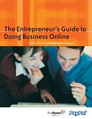 The Entrepreneur's Guide to Doing Business Online