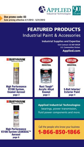 FEATURED PRODUCTS - Applied Industrial Technologies