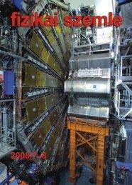 Fizikai Szemle - 58. évf. 7-8. sz. (2008. július-augusztus) - EPA