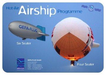 Accessories 4 and 6 seater - Gefa-Flug