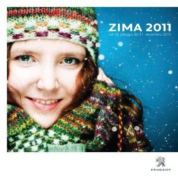 ZIMA 2011 - Peugeot