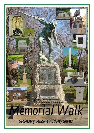 Memorial Walk CBD Secondary student activities.pdf