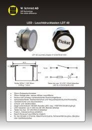 Datenblatt LDT 40 Deutsch - LED