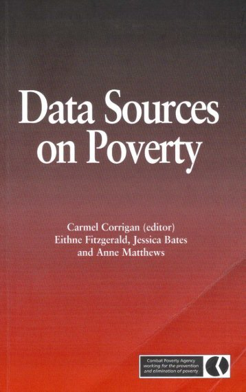 Data Sources on Poverty (2002) - Combat Poverty Agency