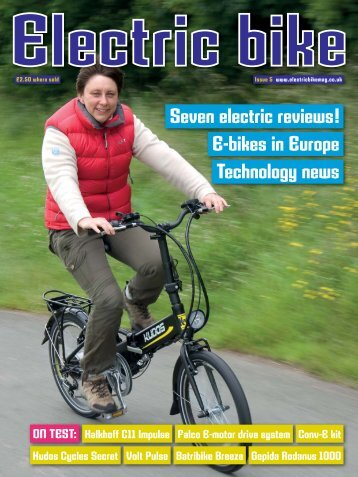 Issue Five - Autumn 2012 - Electric Bike Magazine